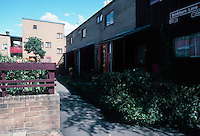 Ralph Erskine: Byker Redevelopment, Newcastle. Multi-family.