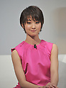 May 15, 2012, Tokyo, Japan - Ayame Goriki, Japanese fashion model and actress, is on hand during a launch of KDDIs new lineup of mobile phone summer models and new video and music distribution services for mobile phones in Tokyo on Tuesday, May 15, 2012. Goriki is a character personality for the telephone companys mobile phone brand au. (Photo by Natsuki Sakai/AFLO) AYF -mis-