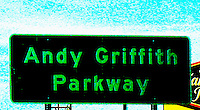 Andy Griffith Parkway Sign North Carolina By Jonathan Green