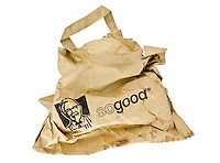 KFC Takeaway Paper Bag - Mar 2013.