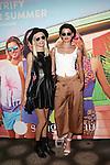 Models Melissa Tammerijn and Anne VerHallen Attend Sunglass Hut Electric Summer Campaign Kick-Off Held at Industry Kitchen