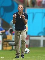 USA coach Juergen Klinsmann reacts on the touchline