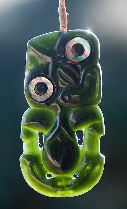 Tiki by Andrew Nelson of Picton, New Zealand