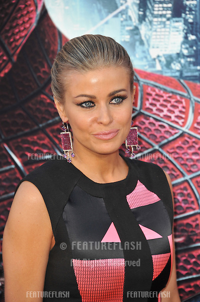 "Carmen Electra at the world premiere of ""The Amazing Spider-Man"" at Regency Village Theatre, Westwood..June 29, 2012  Los Angeles, CA.Picture: Paul Smith / Featureflash"