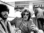 Bee Gees 1971 Barry Gibb and Robin Gibb