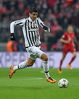 FUSSBALL CHAMPIONS LEAGUE  SAISON 2015/2016 ACHTELFINALE RUECKSPIEL FC Bayern Muenchen  - Juventus Turin      16.03.2016 Hernanes (Juventus Turin)