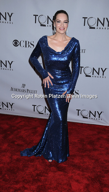 nominee Tammy Blanchard attending the 65th Annual Tony Awards at The Beacon Theatre in New York City on June 12, 2011.