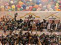 The Baylor team celebrates after defeating Washington in the 2011 Valero Alamo Bowl at the Alamodome in San Antonio, Texas on Thursday, Dec. 29, 2011. Baylor won 67-56.