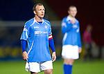 St Johnstone FC...Season 2011-12.Jody Morris.Picture by Graeme Hart..Copyright Perthshire Picture Agency.Tel: 01738 623350  Mobile: 07990 594431