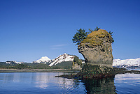 Sea Stacks, Hinchenbrook Island, Prince William Sound