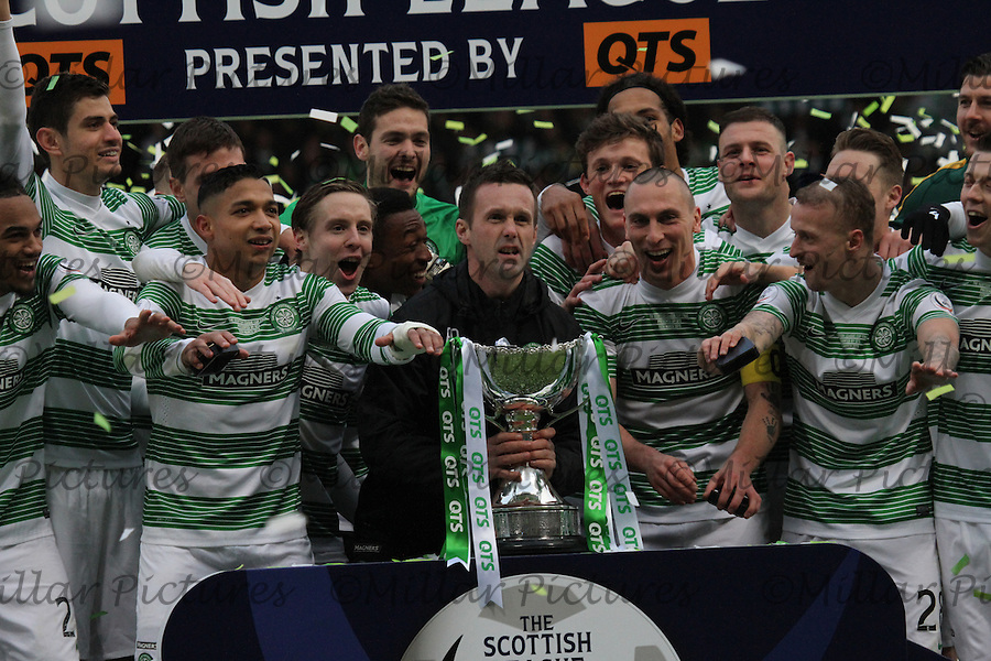 Dundee United v Celtic Scottish League Cup Final presented by QTS 150315