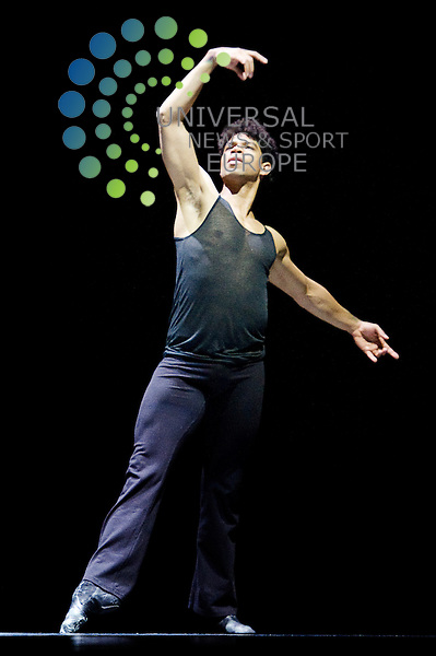 Cuban ballet star Carlos Acosta is to dance his most personal work to date, On Before, at the Festival Theatre in Edinburgh with fellow Royal Ballet principal dancer Zenaida Yanowsky, Edinburgh, Scotland, 26th April, 2013.Picture:Scott Taylor Universal News And Sport (Europe) .All pictures must be credited to www.universalnewsandsport.com. (Office)0844 884 51 .