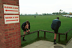 Crewe Alexandra training ground shoot, 2002. Photo by Tony Davis