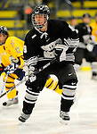 29 December 2007: Western Michigan University Broncos' right wing forward Patrick Galivan, a Junior from Oak Park, IL, in action against the Quinnipiac University Bobcats at Gutterson Fieldhouse in Burlington, Vermont. The Bobcats defeated the Broncos 2-1 in the first game of the Sheraton/TD Banknorth Catamount Cup Tournament...Mandatory Photo Credit: Ed Wolfstein Photo