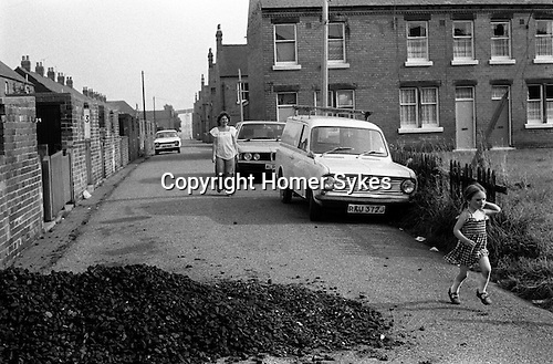 Free coal supplys for mininf families. South Kirkby Colliery, Yorkshire England. Coal Miners story 1979.
