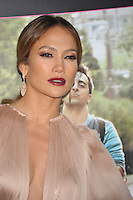 Actress Jennifer Lopez arrives at the premiere of 'What To Expect When You're Expecting' held at Grauman's Chinese Theatre in Hollywood.