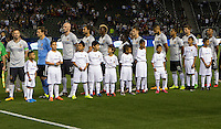 Carson, CA. - February 9, 2016: The LA Galaxy and Los Xolos de Tijuana FC  played to a 0-0 tie in an international friendly match at StubHub Center.