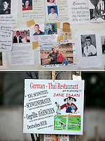 A tsunami struck the coast of Thailand on the morning of December 26, 2004.  The destruction was great in  Khao Lak, north of Phuket, were thousands of tourists and locals died. Large holiday resorts were reduced to rubble...Five years on tourists are back, and posters with missing persons have long since been replaced by advertising for local business...©Fredrik Naumann/Felix Features