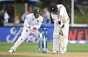 2017 International Cricket 2nd Test New Zealand v South Africa Mar 18th