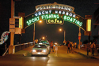 Santa Monica Pier (Santa Monica's most famous landmark) on Tuesday, July 31, 2007.