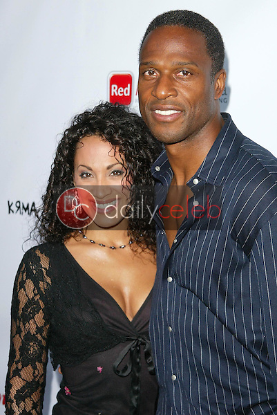 Willie Gault and guest<br />