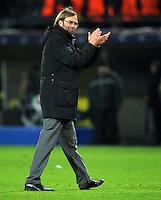 FUSSBALL   CHAMPIONS LEAGUE   SAISON 2011/2012  Borussia Dortmund - Olympique Marseille   06.12.2011 Trainer Juergen Klopp (Borussia Dortmund)