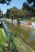 LA River; Tujunga Wash sub watershed San Fernando Valley CA; California,