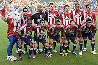 CD Chivas USA starting eleven. The Philadelphia Union and CD Chivas USA played to 1-1 draw at Home Depot Center stadium in Carson, California on Saturday evening July 3, 2010..