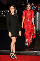 LONDON, ENGLAND - NOVEMBER 11: Meghan Markle &amp; Jena Malone attend the UK premiere of 'The Hunger Games: Catching Fire' at Odeon Leicester Square on November 11, 2013 in London, England<br /> CAP/ROS<br /> &copy;Steve Ross/Capital Pictures /MediaPunch ***NORTH AND SOUTH AMERICAS ONLY***