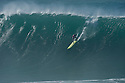 Takayuki Wakita (JPN) during the Quiksilver Eddie Aikau at Waimea Bay on the Northshore of Oahu in Hawaii