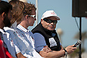 The Opening ceremony of Sailing Arabia The Tour 2012. Bahrain's Amwaj Marina. Commercial Bank skipper Bertand Pace..Credit: Lloyd Images
