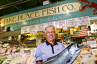 Pike Place Fish Market for Seafood Business