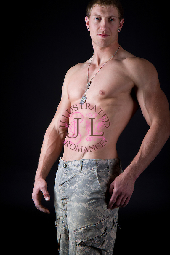 Military inspired romance novel cover images by Jenn LeBlanc for Illustrated Romance.