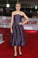 Alison Pill<br /> at the &quot;Hail, Caesar&quot; World Premiere, Village Theater, Westwood, CA 02-01-16<br /> David Edwards/DailyCeleb.com 818-249-4998