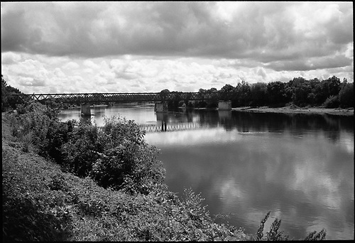 Bank of the Vienne, Chinon, France by Paul Cooklin