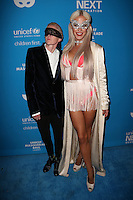 LOS ANGELES, CA - OCTOBER 27: Nats Getty, Gigi Gorgeous at the Fourth Annual UNICEF Masquerade Ball Los Angeles at Clifton's Cafeteria in Los Angeles, California on October 27, 2016. Credit: Faye Sadou/MediaPunch