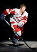 Junior David Warsofsky (BU - 5) wears the A this season. - The Boston University Terriers defeated the visiting University of Toronto Varsity Blues 9-3 on Saturday, October 2, 2010, at Agganis Arena in Boston, MA.