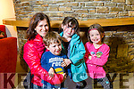Enjoying the Circus Festival at Siamsa Tíre on Saturday were Jerry O'Sullivan  Ciara Moore, Oisin Moore, Eve Ni Garratt,