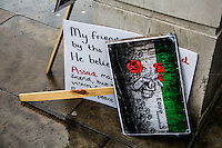 16.03.2013 - Second Anniversary of the Syrian Revolution outside 10 Downing Street