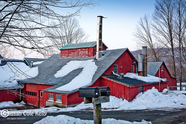 Goulds Sugar House in Shelburne, MA, USA