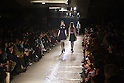 March 23, 2012, Tokyo, Japan - Models walk down the catwalk wearing &quot;G.V.G.V.&quot; during Mercedes-Benz Fashion Week Tokyo 2012-13 Autumn/Winter. The Mercedes-Benz Fashion Week Tokyo runs from March 18-24. (Photo by Christopher Jue/AFLO)