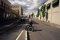 John Callahan, cartoons, writer, artist, illustrator and musician, photographed in and around Portland Oregon