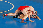 12 MAR 2011:  Aaron Densen of Nebraska-Omaha wrestles Charlie Pipher of Western State during the Division II Men's Wrestling Championship held at the UNK Health and Sports Center on the University of Nebraska - Kearney campus in Kearney, NE.  Densen defeated Pipher 6-4 to win the 184-lb national title. Corbey R. Dorsey/ NCAA Photos