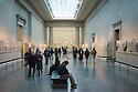 London, UK. 06.12.2014. The Parthenon (Elgin) Marbles, British Museum, London, UK. Photograph © Jane Hobson.