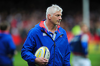 Bath Director of Rugby Todd Blackadder looks on during the pre-match warm-up. Aviva Premiership match, between Gloucester Rugby and Bath Rugby on October 1, 2016 at Kingsholm Stadium in Gloucester, England. Photo by: Patrick Khachfe / Onside Images