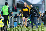 Colm Cooper Dr. Crokes is substituted in their game against Corofin in the Semi Final of the Senior Football Club Championship at the Gaelic Grounds, Limerick on Saturday.