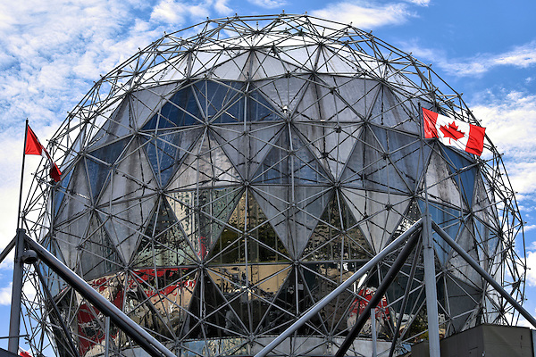 Science world geodesic dome in vancouver canada - The geodesic dome in connecticut call of earth ...