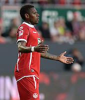 FUSSBALL 1. BUNDESLIGA   SAISON   2012/2013: RELEGATION   RUECKSPIEL 1. FC Kaiserslautern - TSG 1899 Hoffenheim         27.05.2013 Mohamadou Idrissou (1. FC Kaiserslautern)