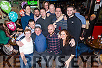 Martin Caine, 50 and John Turner, 40 celebrate with family and friends at Turners Bar on Saturday