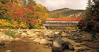 Albany  Covered Bridge, Kancamagus Highway,  New Hampshire, White Mountains national forest